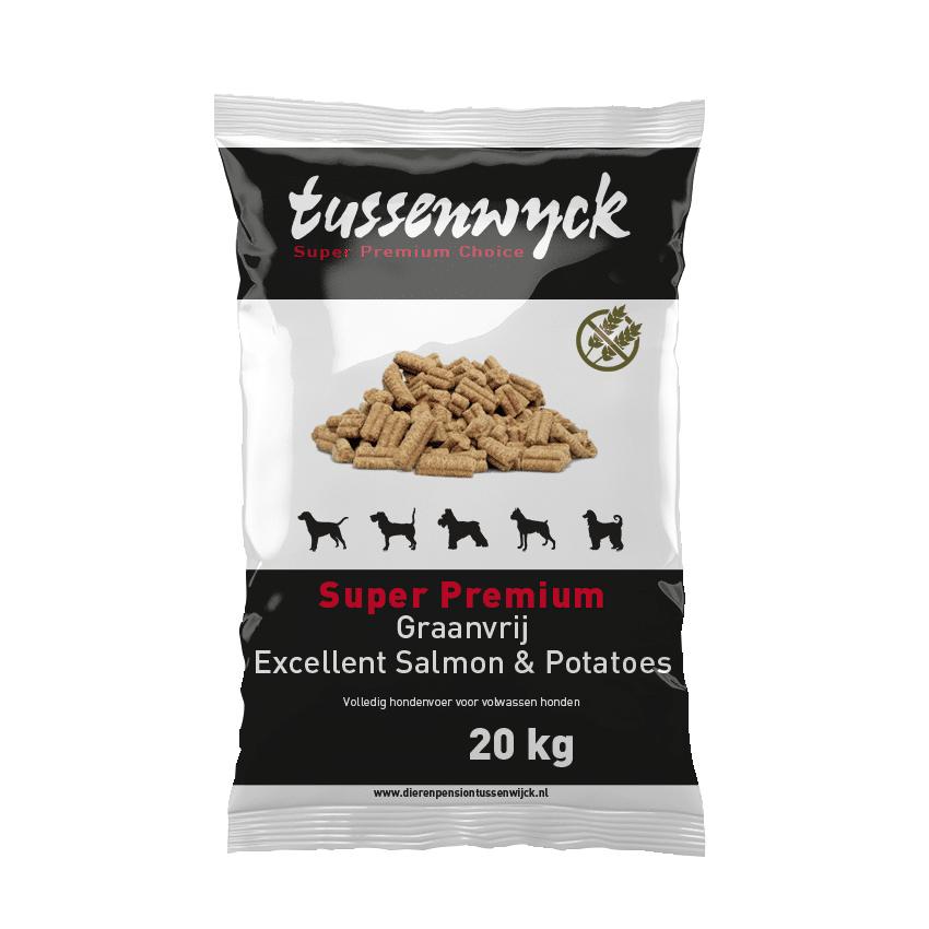 Super Premium Excellent Graanvrij Salmon & Potatoes