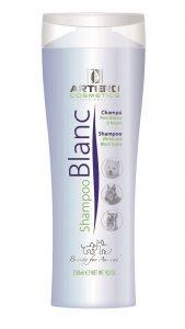 Blanc shampoo voor witte, grijze en zwarte vachten 250 ml